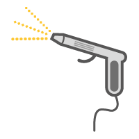 poederspuit pistool