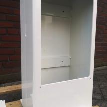 aluminium | primer + poedercoating | RAL 9010 | #180145