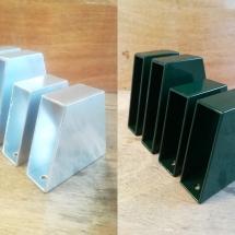 aluminium | primer + poedercoaten | RAL 6009 | #180156