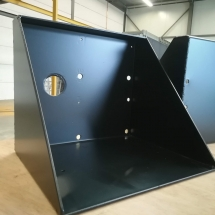 aluminium | primer + poedercoating | RAL 9005 mat | #180148