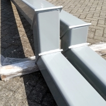 staal | primer + poedercoaten | RAL 7042 | #180185