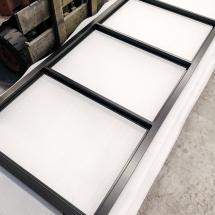 poedercoaten stalen deur | RAL 9005 mat zwart