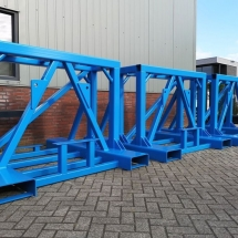 poedercoating industriele frames RAL5015